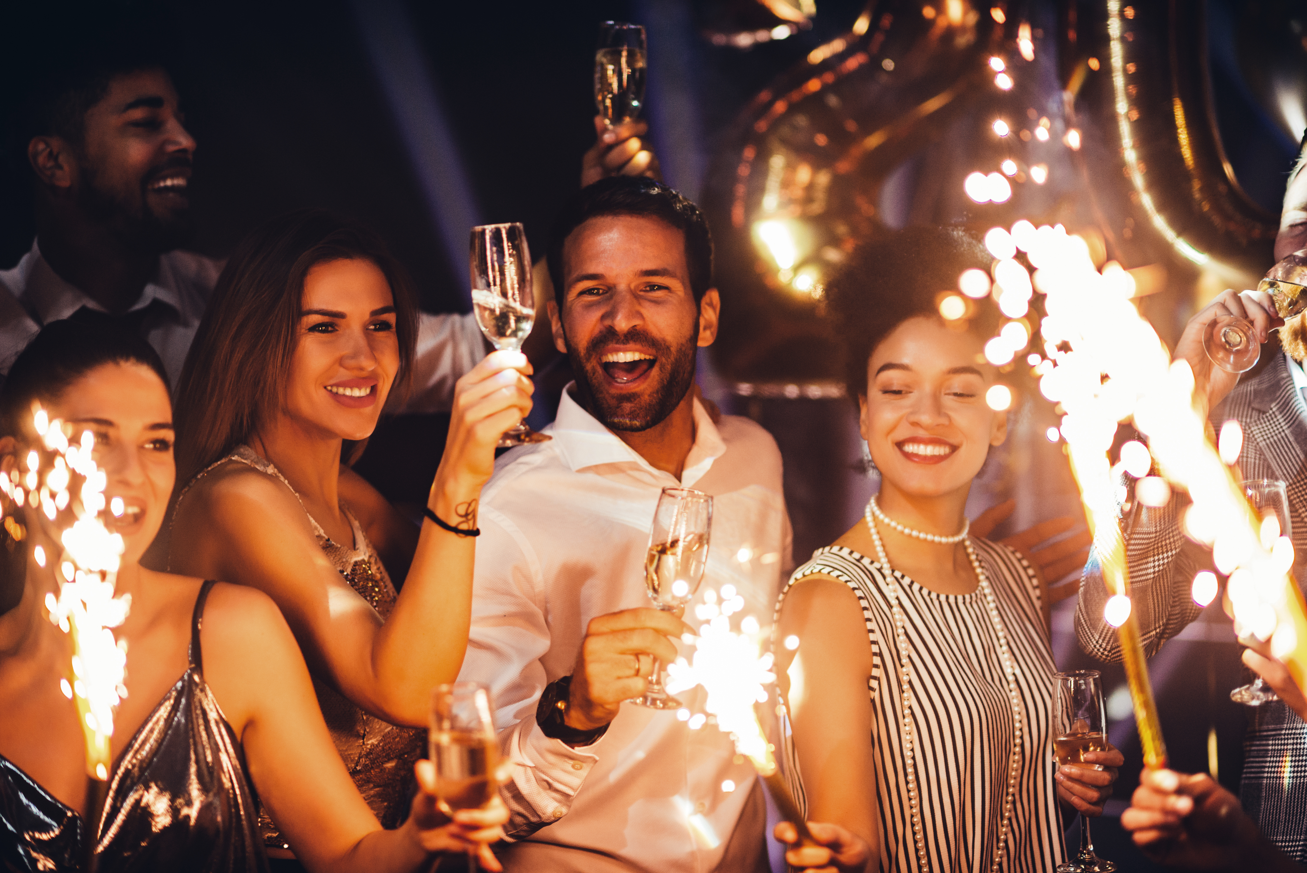 NYE Party with Friends