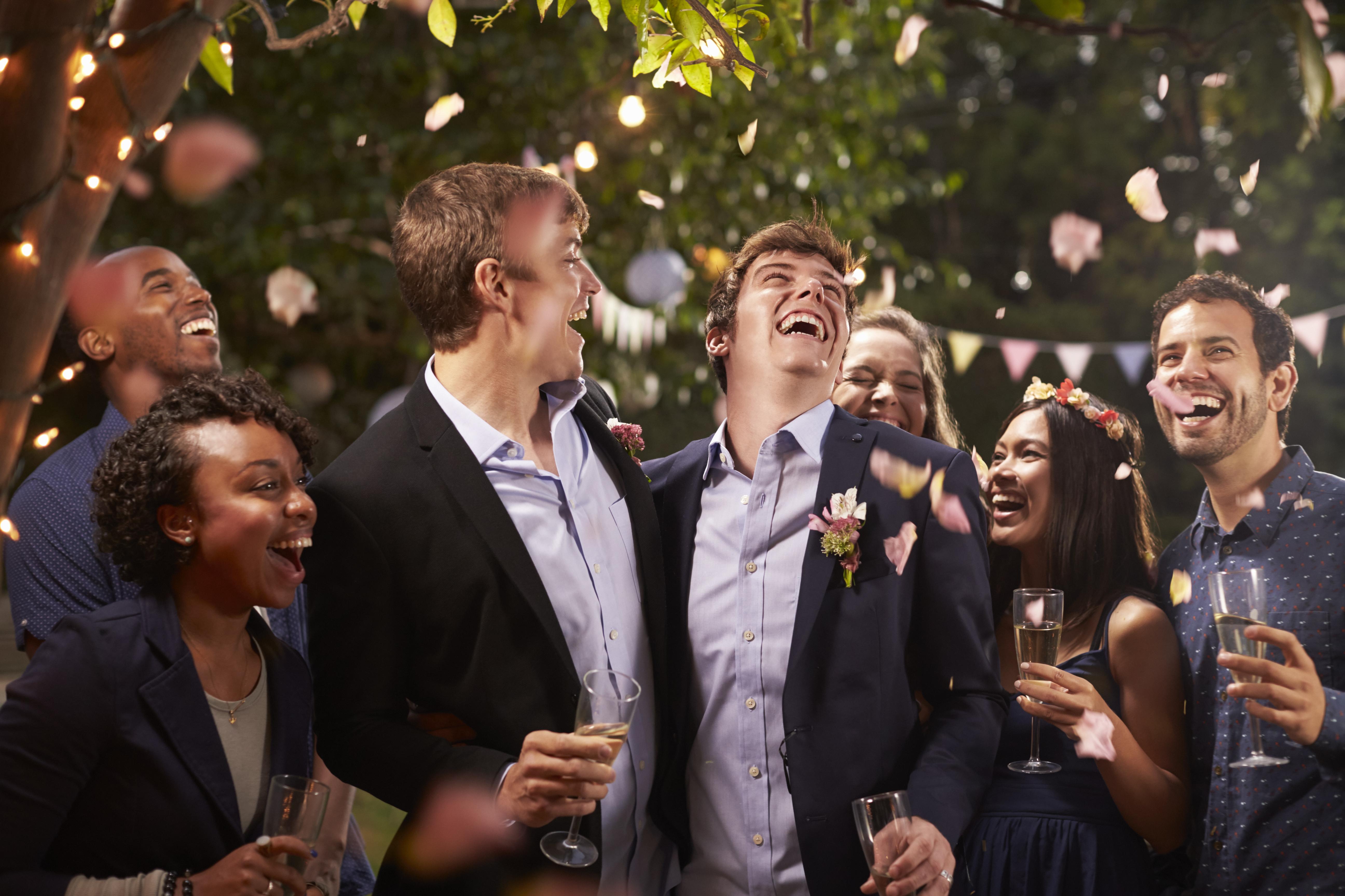 Gay Wedding Party