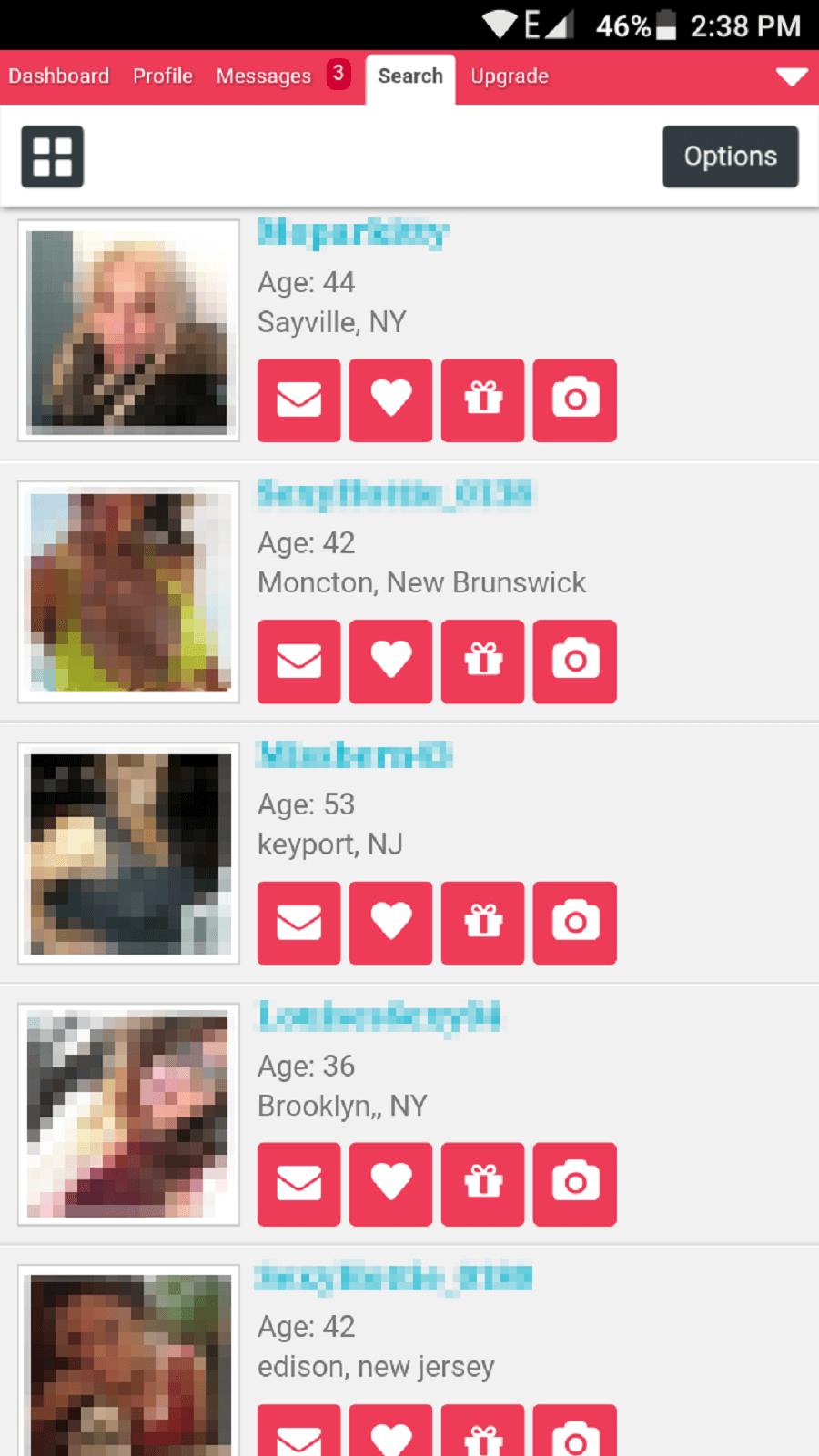 Cougar life profile pics