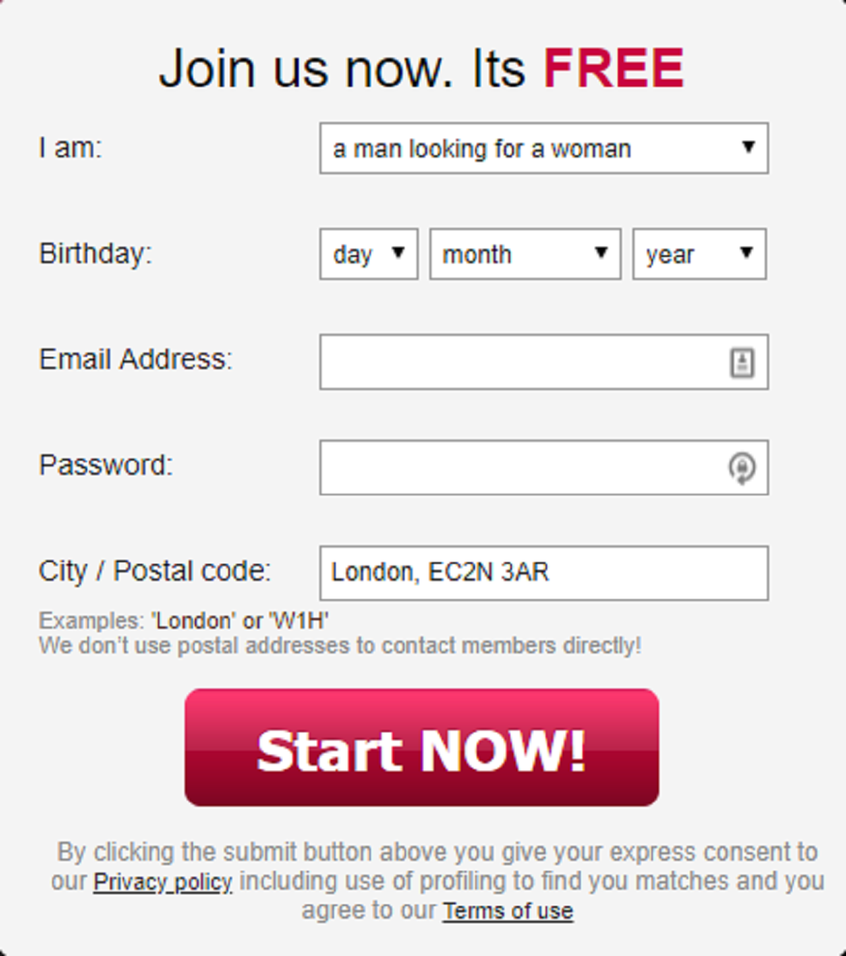 find a date of birth for free in the uk