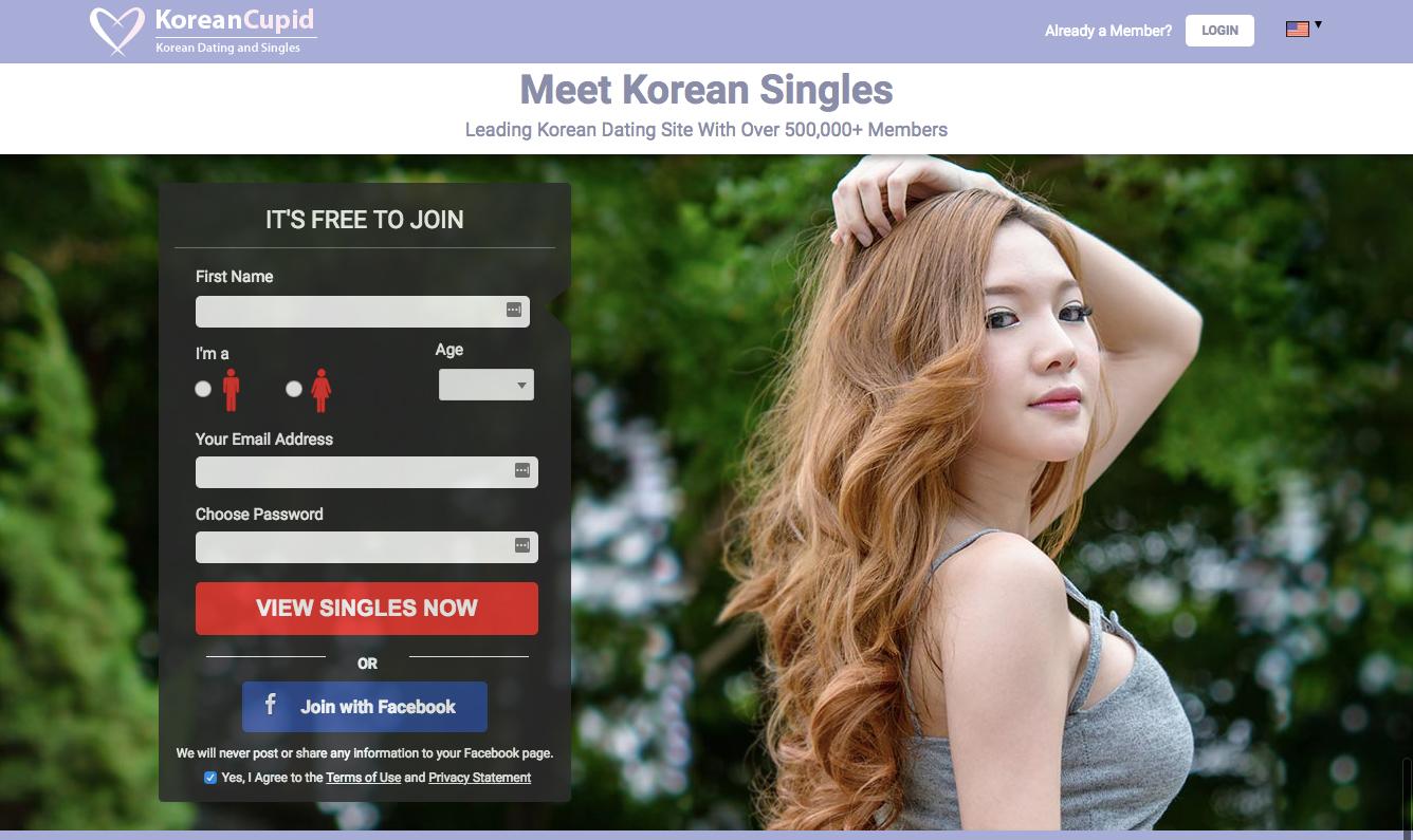 KoreanCupid registration
