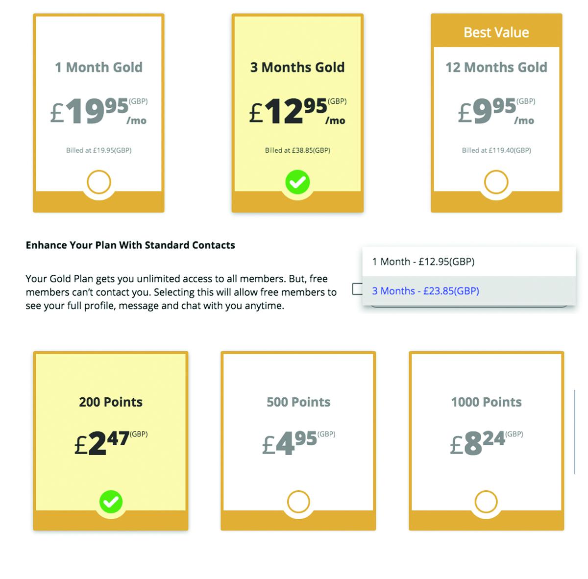 cost of swapfinder uk