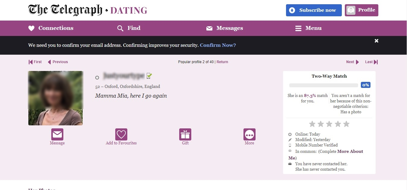 telegraph kindred spirits dating site