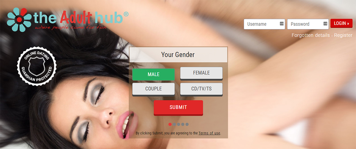 TheAdultHub Sign-up