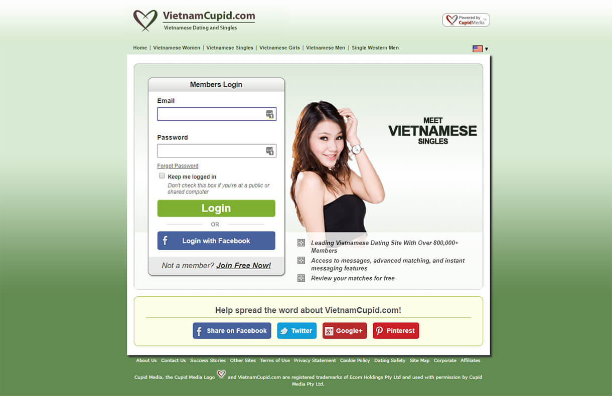 VietnamCupid Sign-up