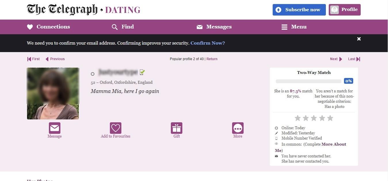 Dating telegraph co uk login