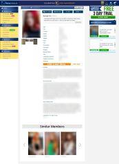 DreamSingles Member Profile Female
