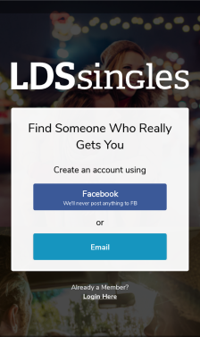 LDS Singles Mobile App
