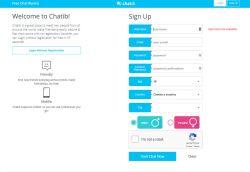 Chatib Sign-up