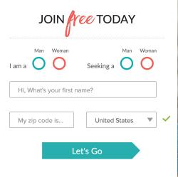 eHarmony Registration