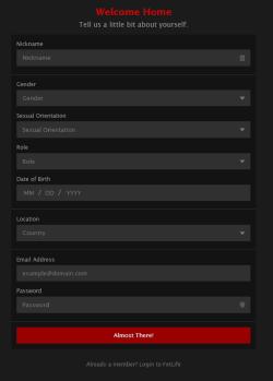 FetLife Register