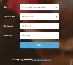speeddater registration