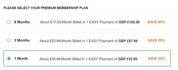 BiCupid UK Price
