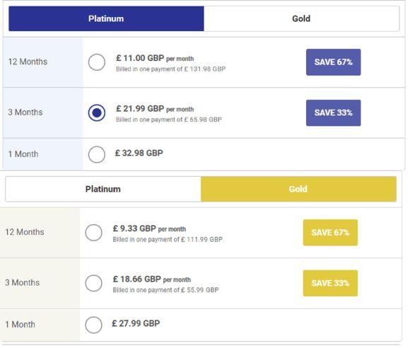 ChinaLoveCupid GB Price