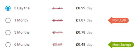 GaysGoDating Price UK