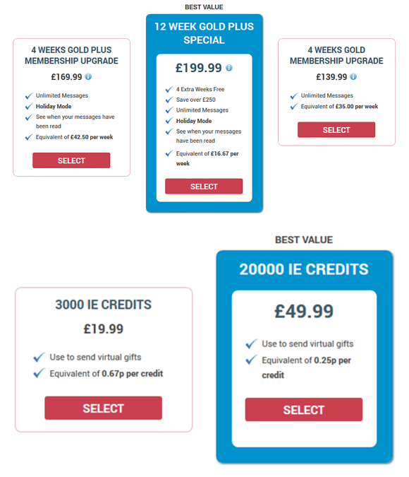 Illicit Encounters UK Price