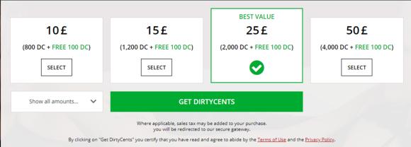 MyDirtyHobby Prices