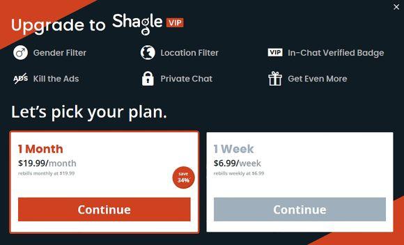 Shagle UK Price
