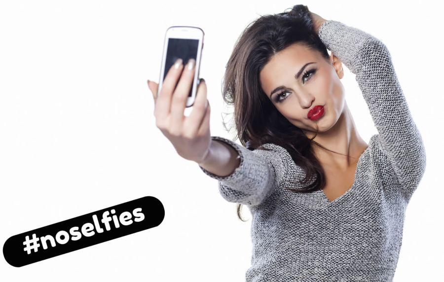 No duckface selfies