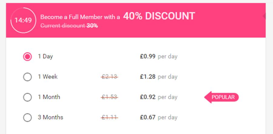 BlackWink Cost GB