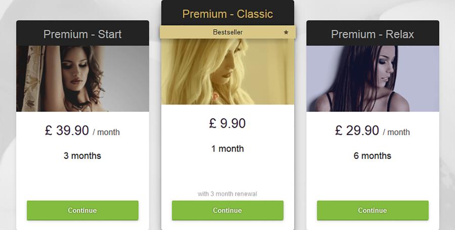 CDate-UK Pricing