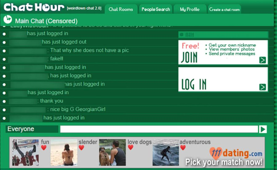 Chat Hour Startup Page