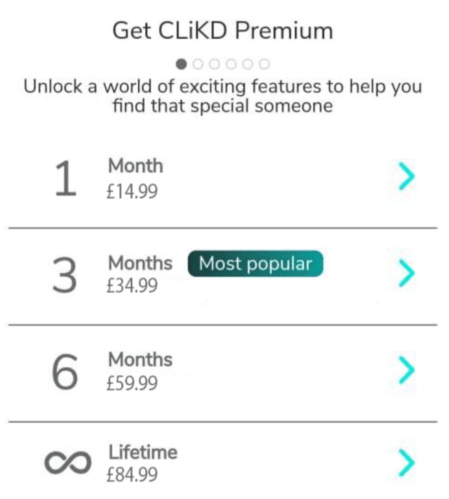 clickd membership fee