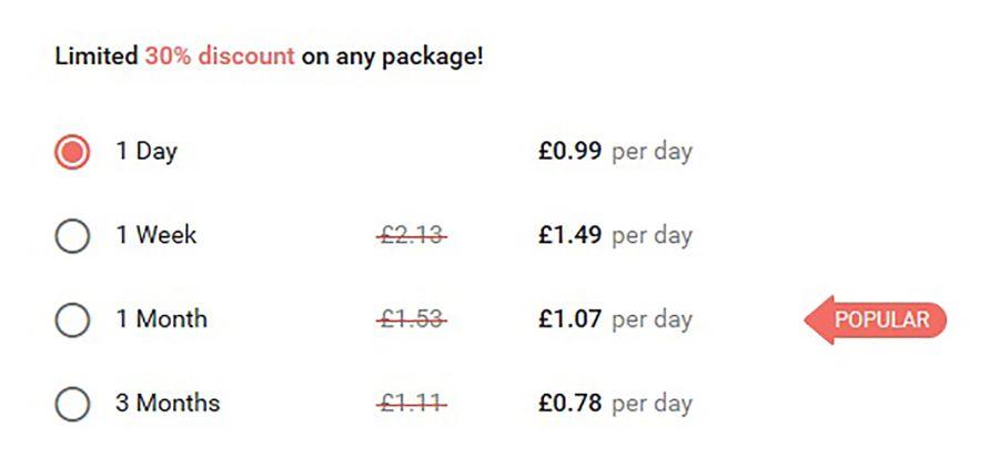 Flirt UK Price