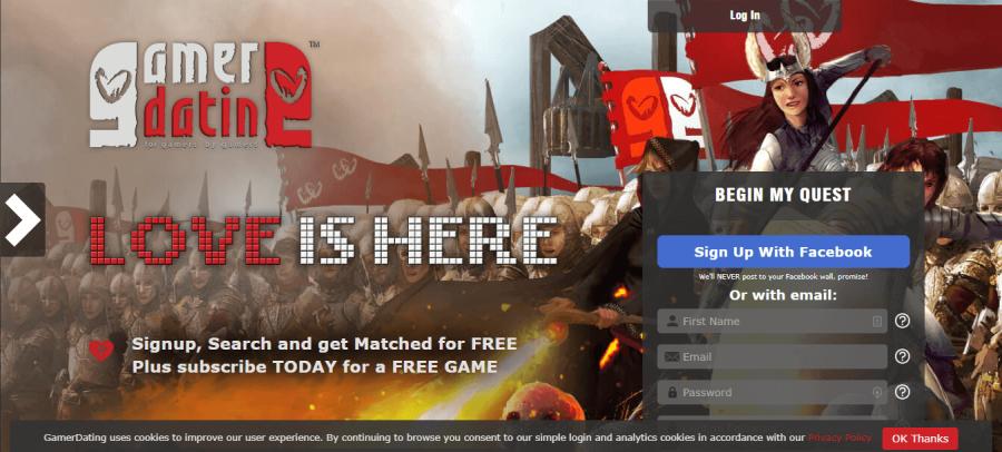 Gamer Dating Registration