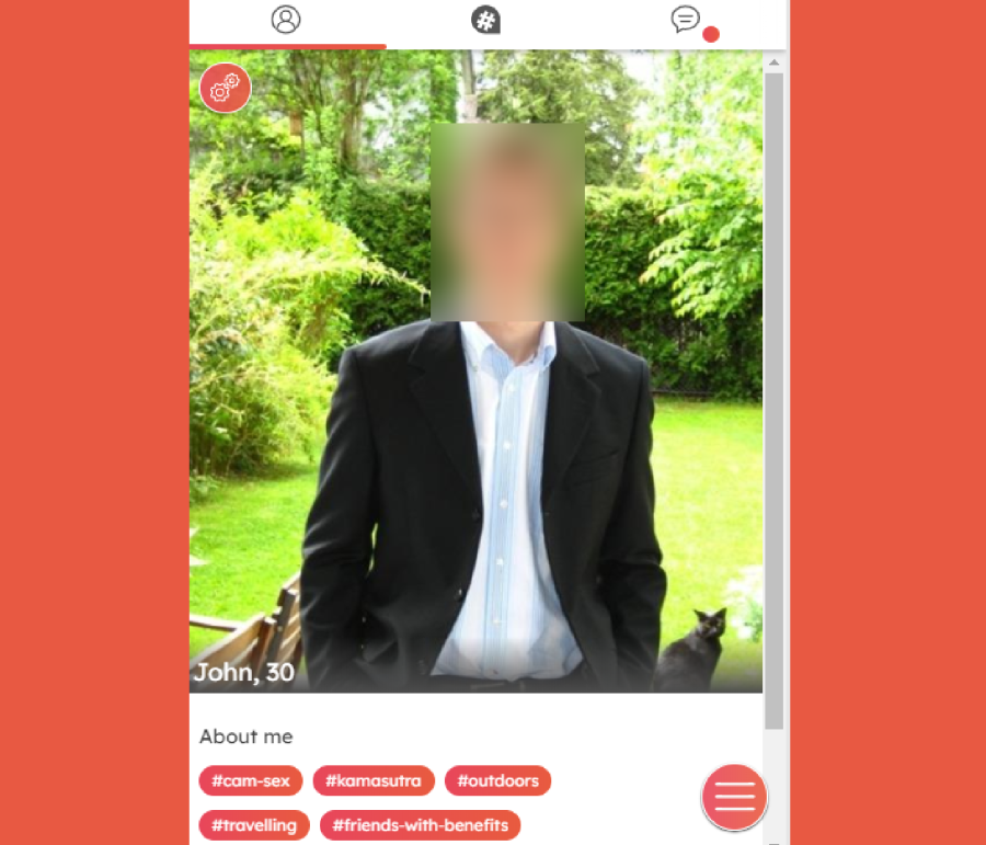 Locanto Dating Male Profile Page