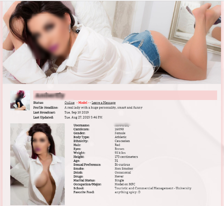 MyFreeCams Profile