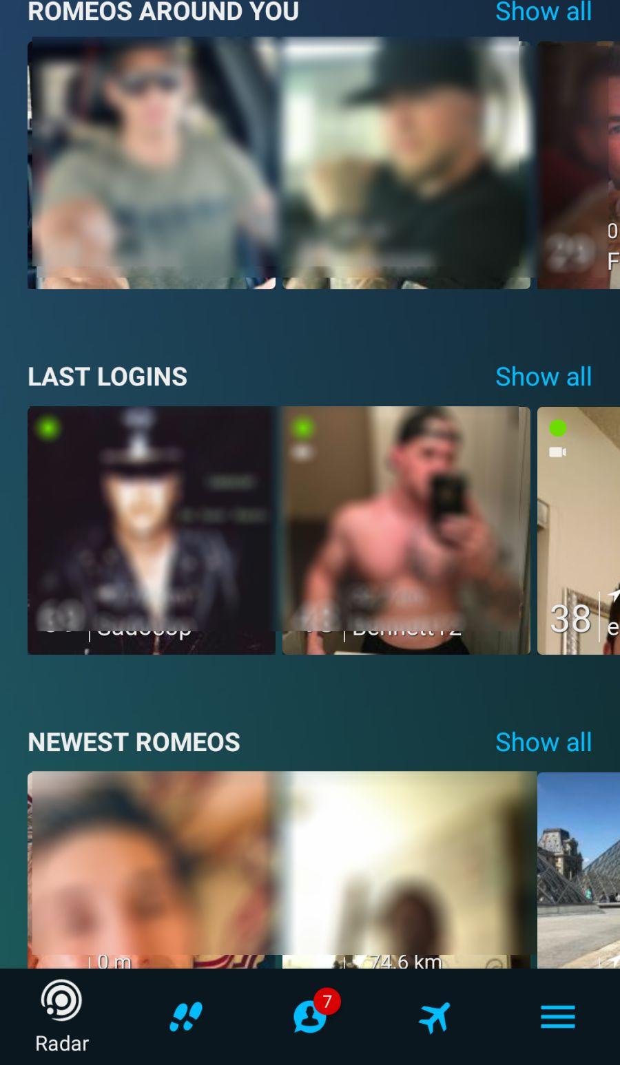 PlanetRomeo Mobile App