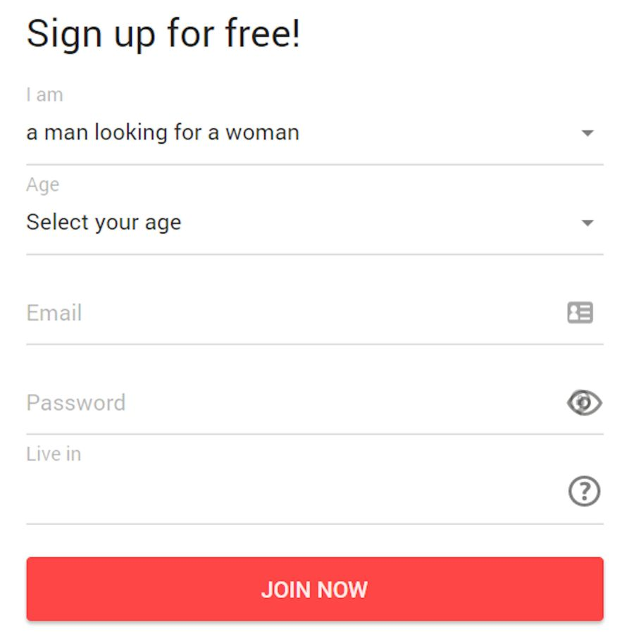 QuickFlirt Sign Up