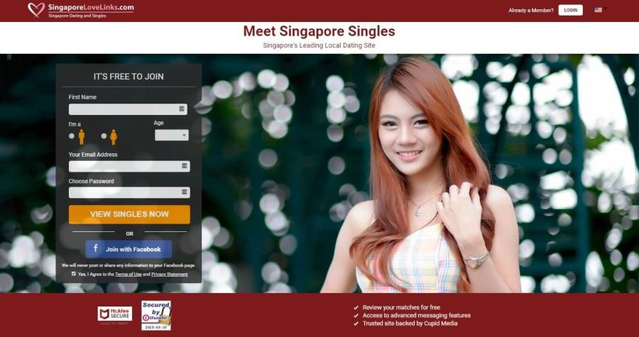 SingaporeLoveLinks Registration
