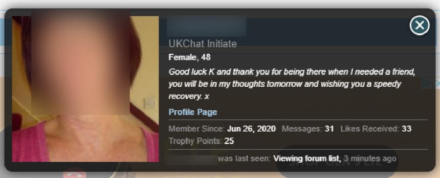 UKChat Profile