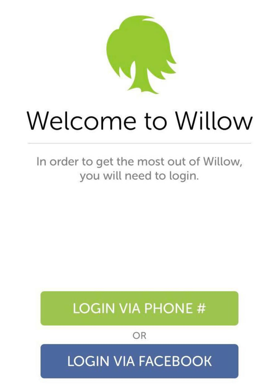 Willow Signup