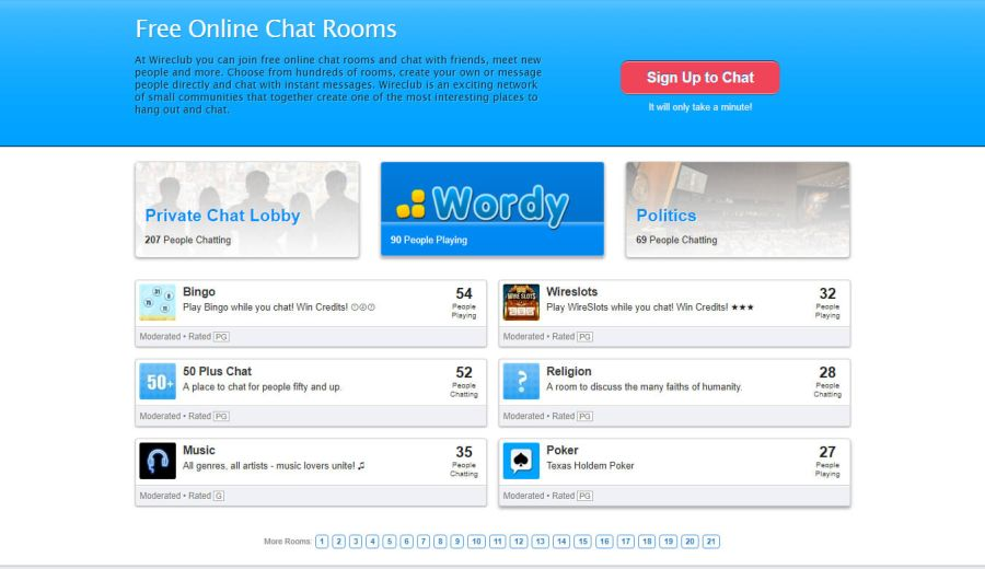 Wireclub Signup2